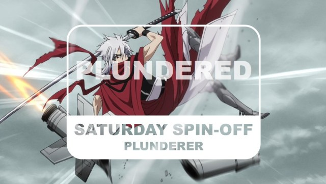 Plunderer Saturday Spin-off Plundered Title