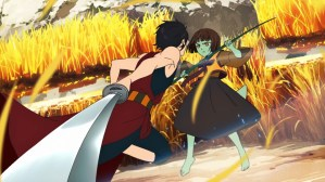 Tower of God Episode 2 Hatz and Anak fighting