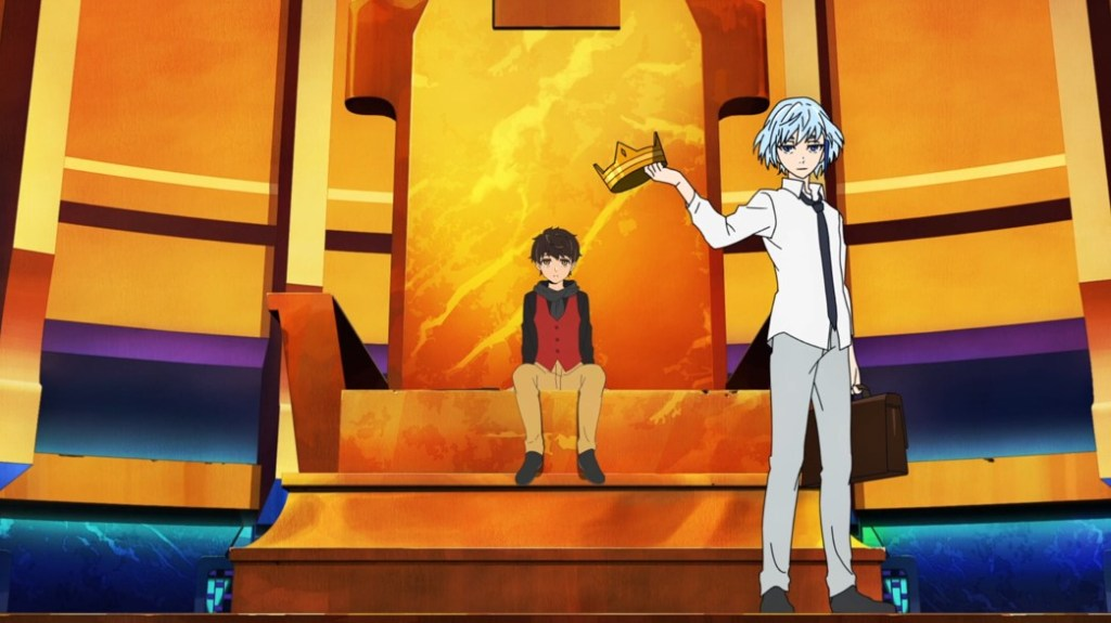 Tower of God Episode 4 Bam and Khan with the Crown