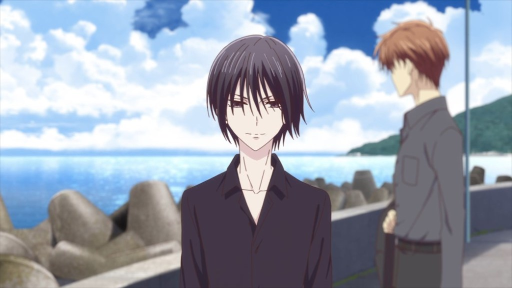 Fruits Basket Episode 32 Akito and Kureno
