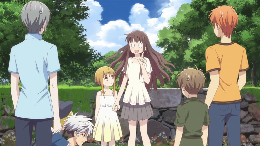 Fruits Basket Episode 32 Yuki Haru Kisa Torhu Hiro and Kyo
