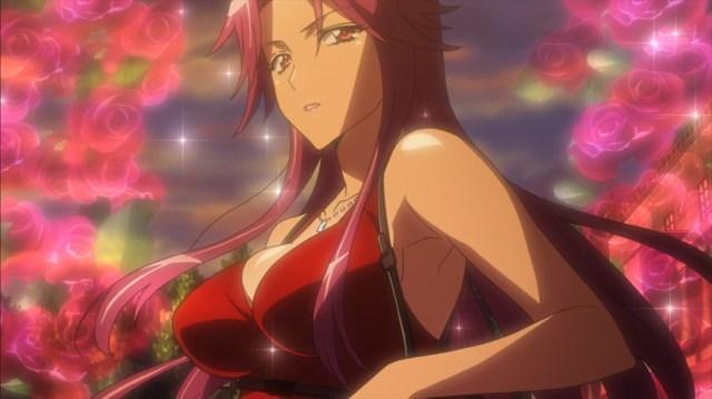 Highschool of the Dead Episode 12 Yuriko Takagi Chest