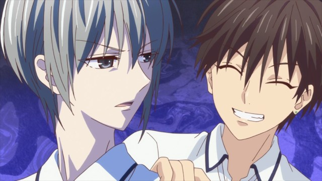 Fruits Basket Episode 38 Yuki and Kakeru