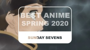 The Otaku Author Sunday Sevens Best Anime Spring 2020