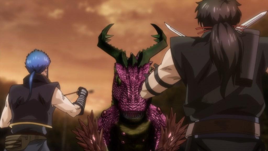 Gibiate Episode 7 Kenroku and Sensui versus Evolved Meteora