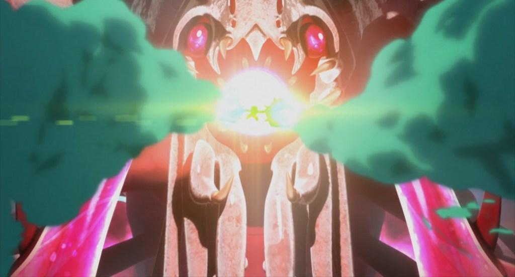 Decadence Episode 12 Donatello attacks Omega