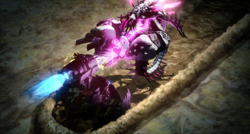 Decadence Episode 12 Kabu-Dence attacks Omega