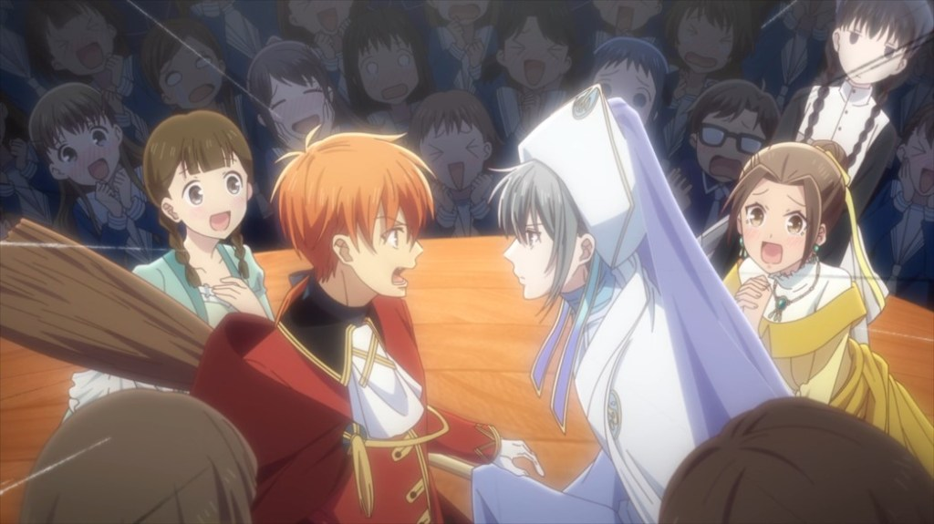 Fruits Basket Episode 48 The Fairy Godmother gives the Prince some Advice