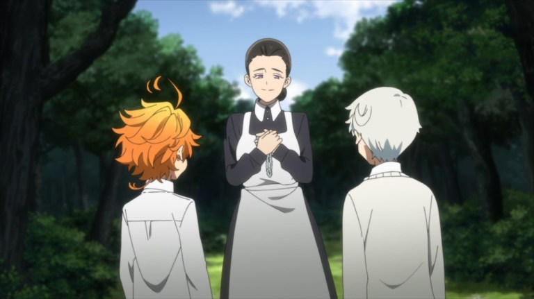 The Promised Neverland Episode 8 Mother warns Norman and Emma