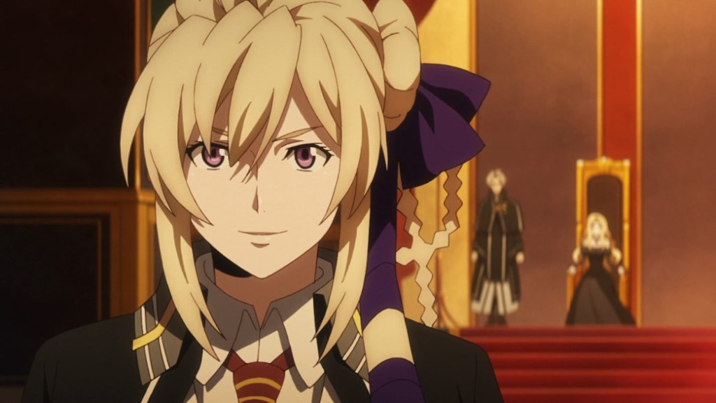 Record of Grancrest War Episode 3 Siluca negotiating with the Alliance