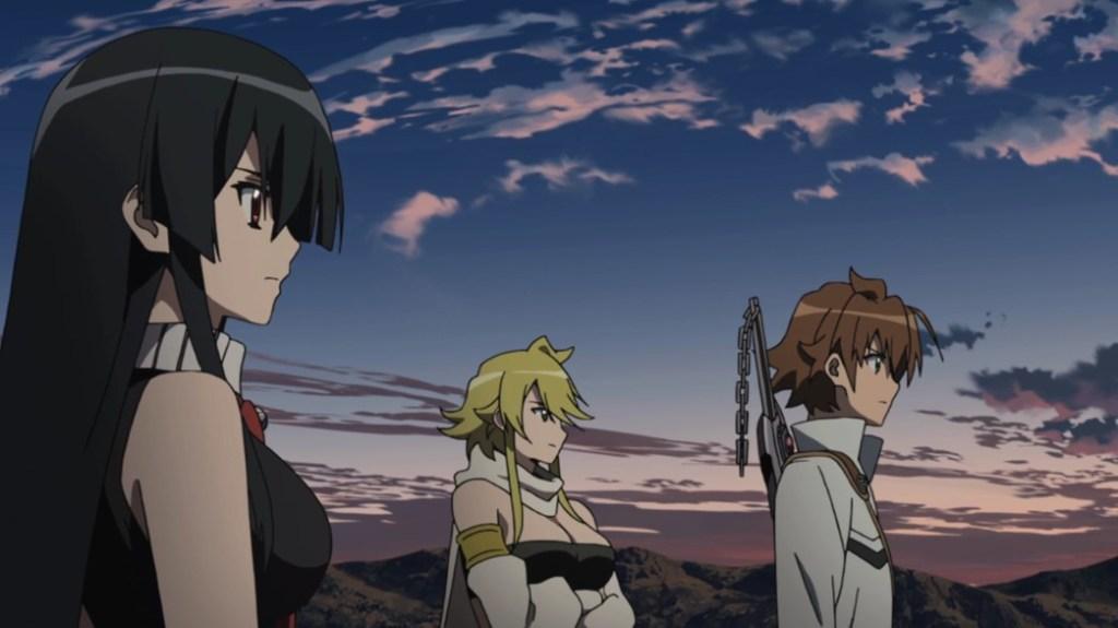 Akame ga Kill Episode 23 Akame Leone and Tatsumi