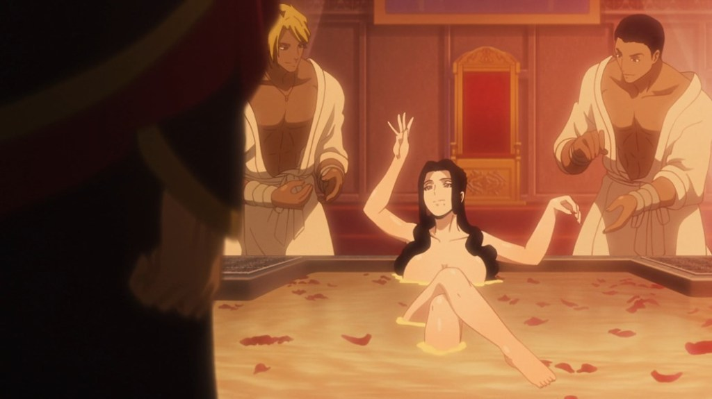 Record of Grancrest War Episode 10 Edokia Queen of Halan