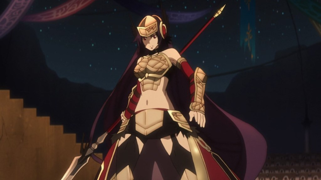 Record of Grancrest War Episode 22 Aishela attacks the holy warriors