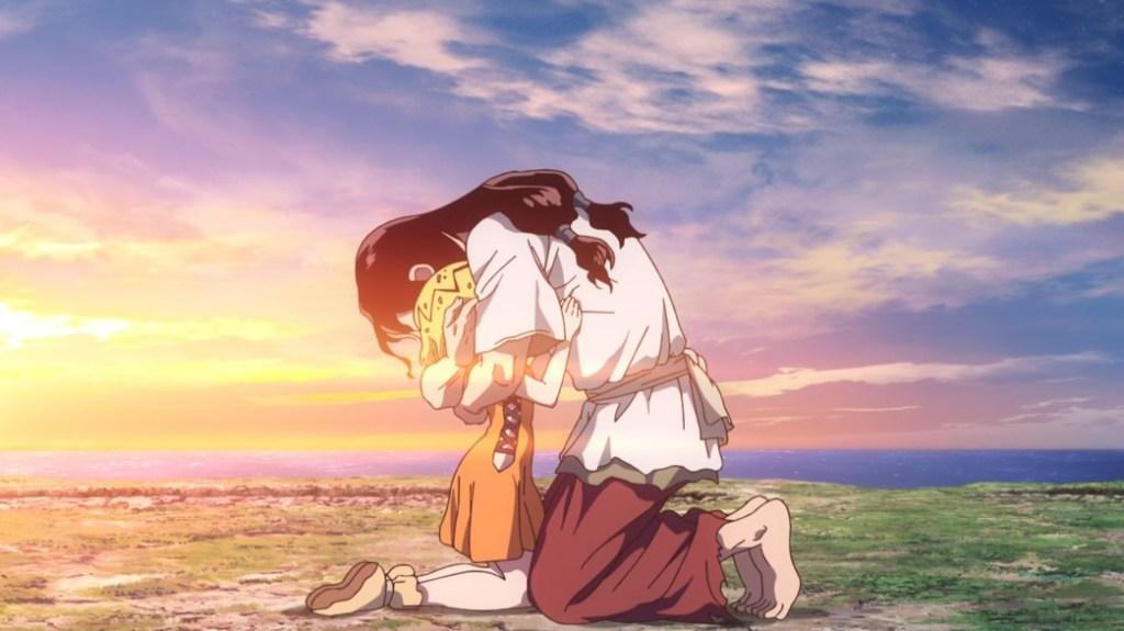 Dr Stone Stone Wars Episode 10 Tsukasa and Mirai