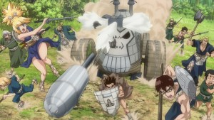 Dr Stone Stone Wars Episode 7 Capture the Cave