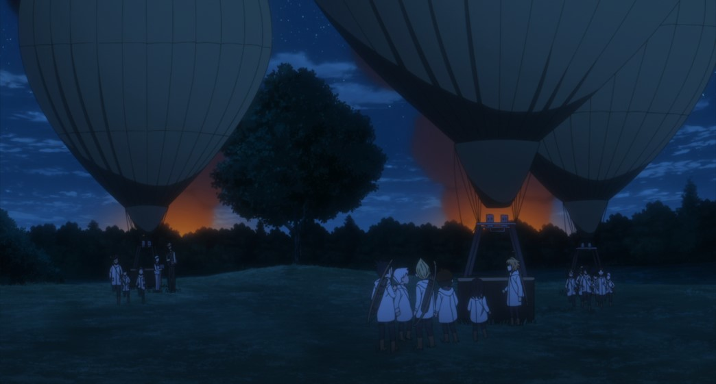 The Promised Neverland Season Two Episode 10 Hot Air Balloon Attack