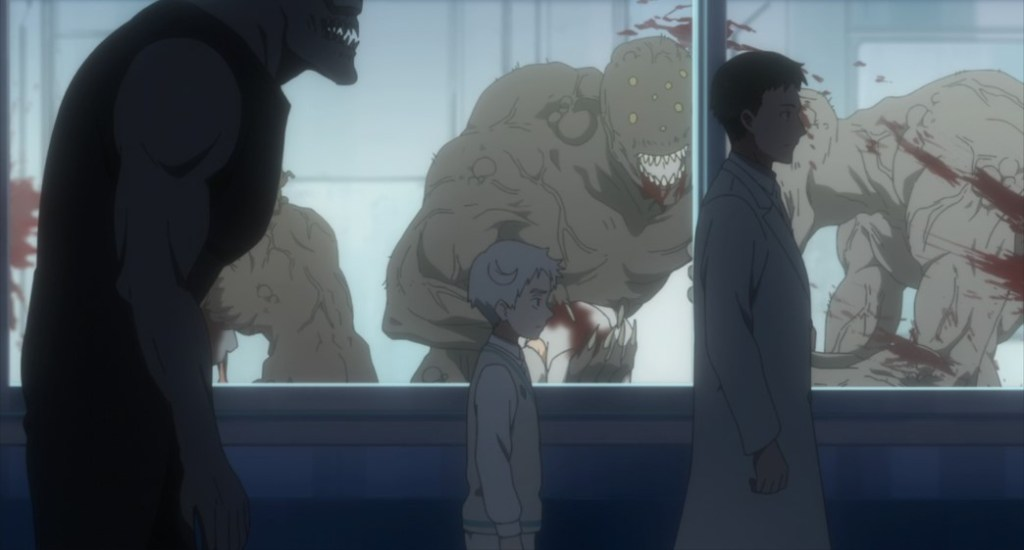 The Promised Neverland Season Two Episode 8 Norman in Lambda facility