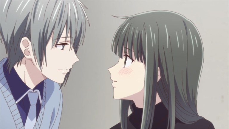 Fruits Basket Episode 53 Yuki and Machi