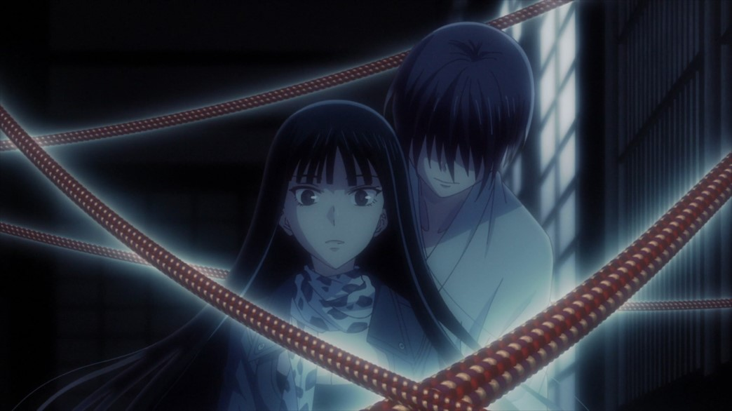Fruits Basket Episode 54 Akito caught Rin