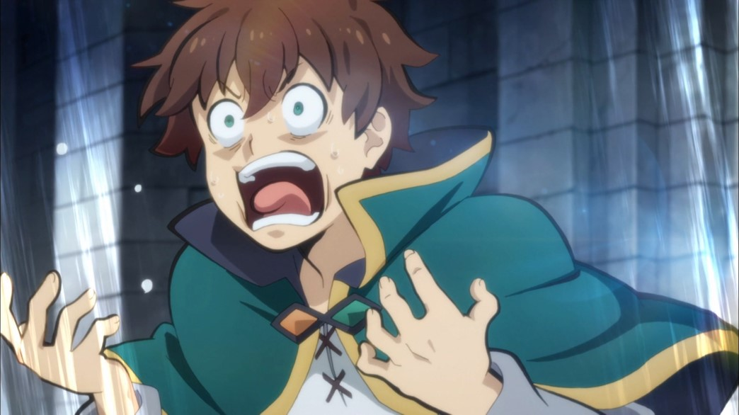 KonoSuba Episode 20 Kazuma can't take any more