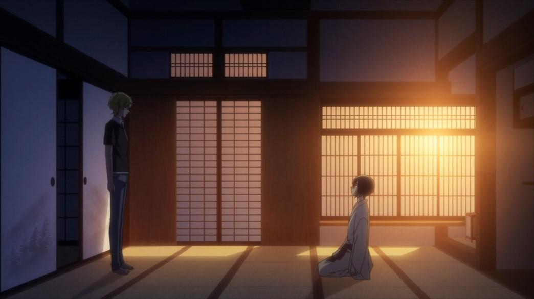 Fruits Basket Episode 55 Momiji and Akito