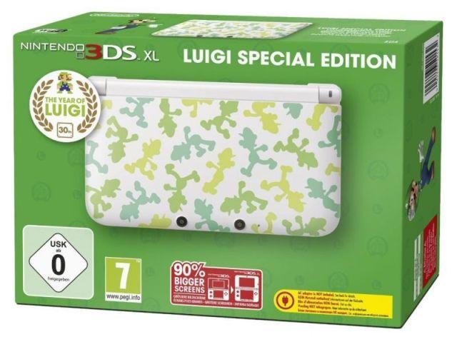 3DS XL Luigi