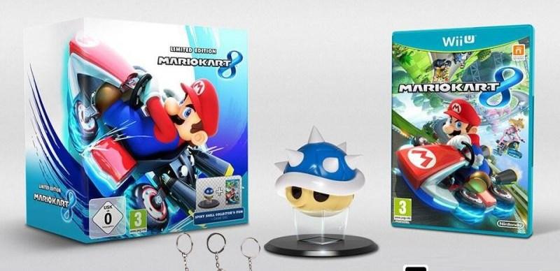 Mario Kart 8 Pack Collector + Portes Clefs