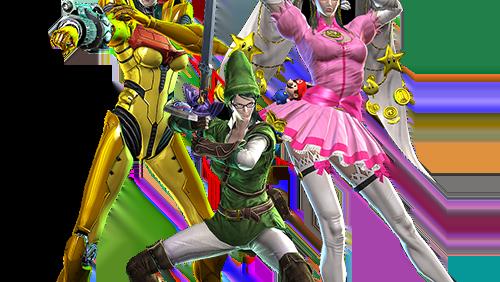 Les 3 costumes bonus de Bayonetta Wii U.
