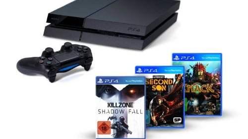 La PS4 et 3 jeux pour 402€ avec les taxes !