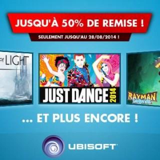 Les soldes Ubisoft sur l'eShop !