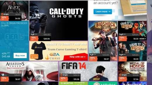 Les promotions Paypal / G2A :-)