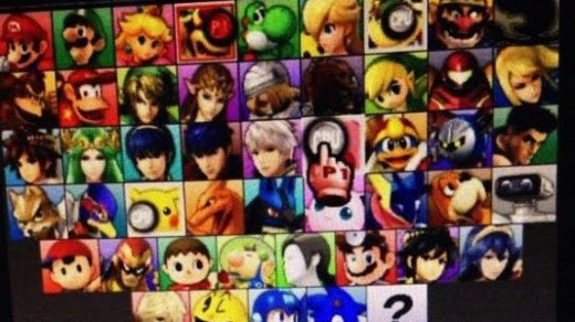 Un leak de l'écran de selection des personnages !