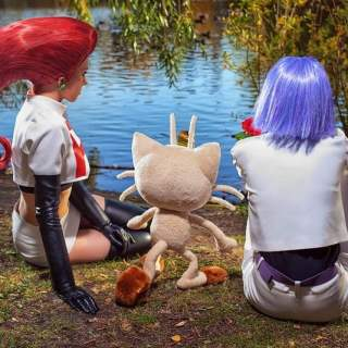 Cosplay de Jessie et James de la Team Rocket (Pokémon)