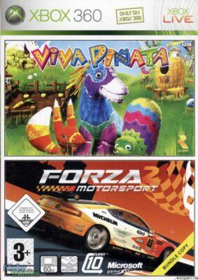 Mon pack Viva Piñata / Forza 2 date de 2006. Il a 8 ans !