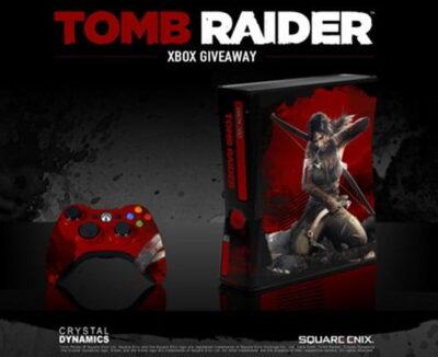 Qui veut une Xbox 360 édition collector Tomb Raider ?