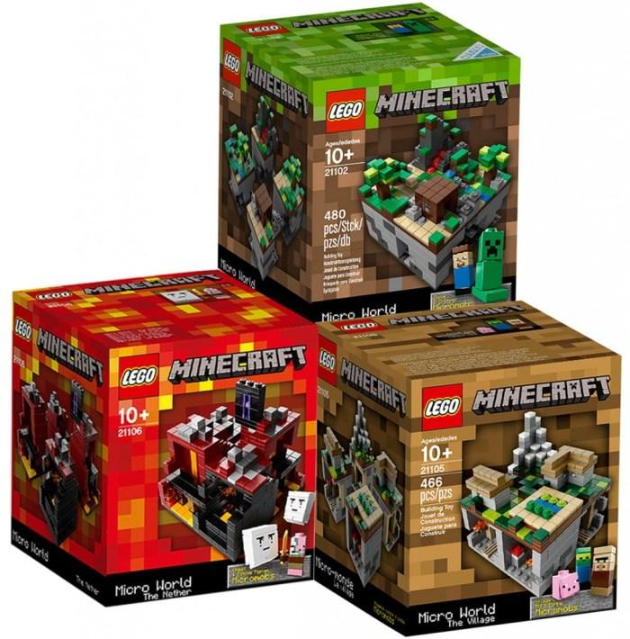 Connaissiez vous les Lego Minecraft ?