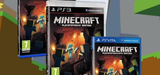 Minecraft sur PS3/4/Vita