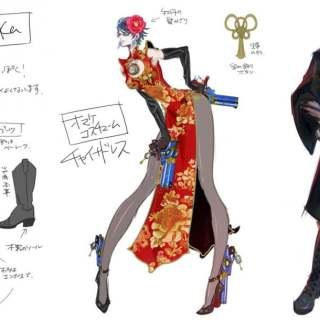 Bayonetta 2 Artworks