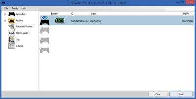 DS4Windows devrait reconnaître votre manette PS4 !