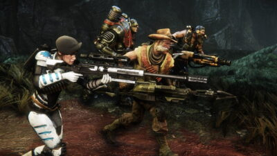 L'équipe d'Evolve au grand complet !