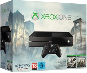 Pack Xbox One avec Assassin's Creed Unity