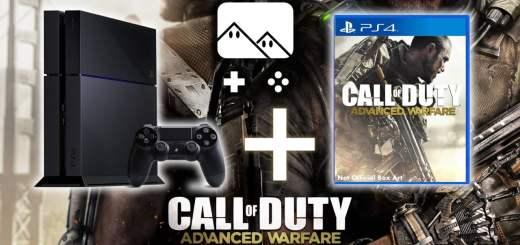 Promo : la PS4 +Call of Duty : Advanced Warfare - édition limitée atlas à 414€