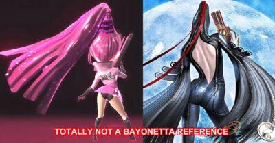 Wonder Pink, elle même une référence à Bayonetta...