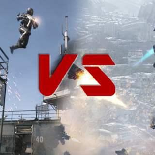Call Of Duty Advanced Warfare vs Titanfall : Fight !
