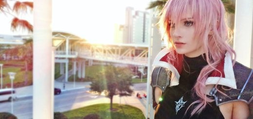 Lightning de Lightnin Return FFX en cosplay !