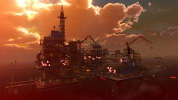 La plateforme pétrolière de Mooil...