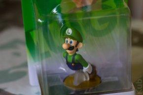 Amiibo Luigi en détails.