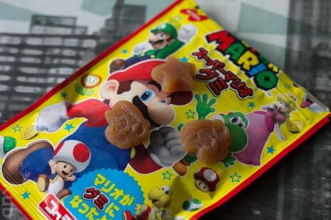 Des bonbons Super Mario !