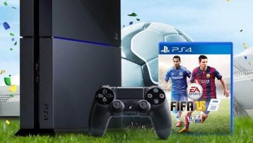 La promo de février : La PS4 + Fifa 15 à 399€ !