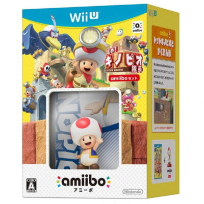 "L'Amiibo Toad de Captain Toad vient en fait de la série ""Super Mario Bros""."